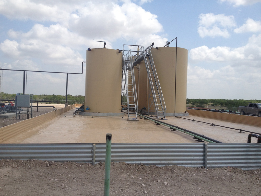 Secondary Containment - Oil & Gas Services - Legend Coatings & Insulation